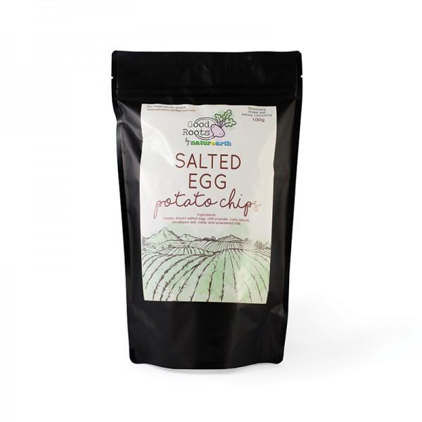Salted Egg Potato Chips